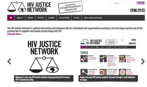 Introducing the HIV Justice Network Edwin Bernard explains the launch of a new online resource for HIV criminalization. Read the full blog: http://blogs.poz.com/edwinbernard/2012/11/introducing_the_hiv.html