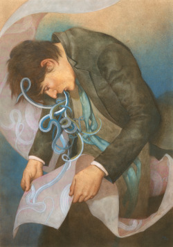 mydarkenedeyes:  Tran Nguyen - We Vomit Carcasses of Unattended Thoughts (2009)