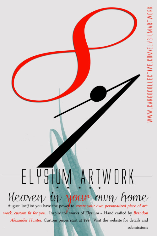 Elysium Artwork Custom Artwork Launch Promotional