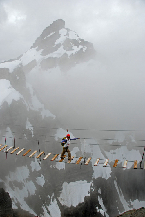 Sky Walking, Mt. Nimbus, Canada photo via jodi