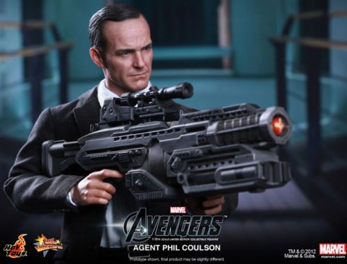 Agent Coulson LIVES! (via MTV Geek - Agent Coulson Lives, And Clark Gregg Is Very Happy About Hot Toys' Newest Movie Masterpiece Action Figure)