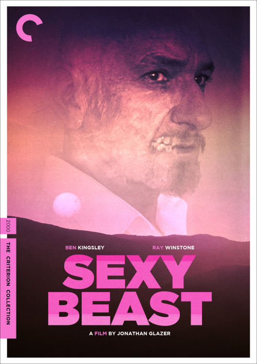 "midmarauder:  Jonathan Glazer's ""Sexy Beast"" Criterion Cover   MM = Midnight Marauder Follow Me on Twitter and Instagram : midmarauder"