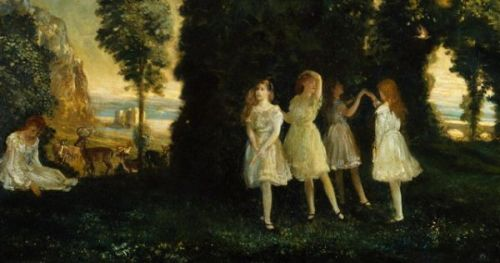 Dancing Children, by Arthur Bowen Davies