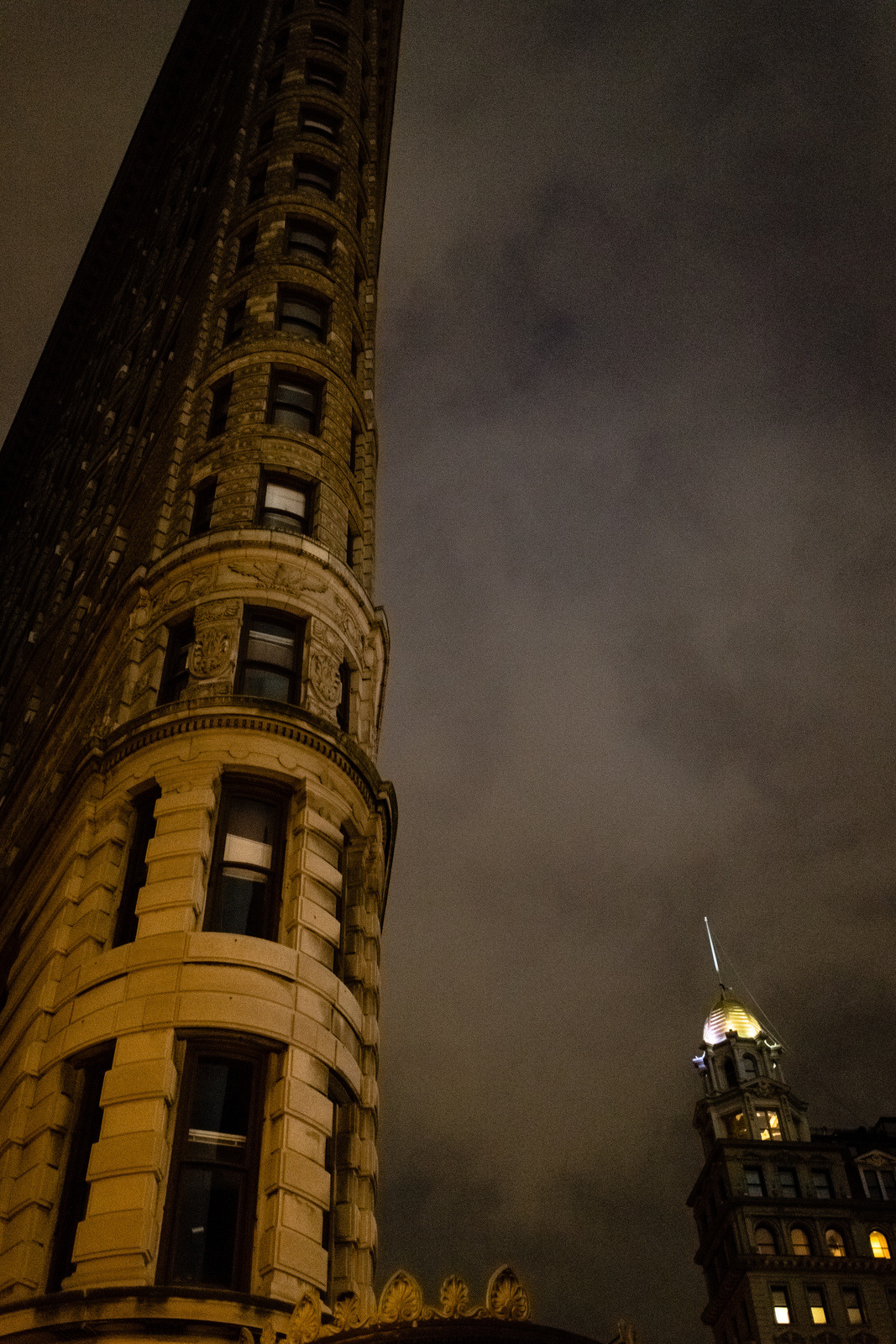 Flatiron in the blackout.