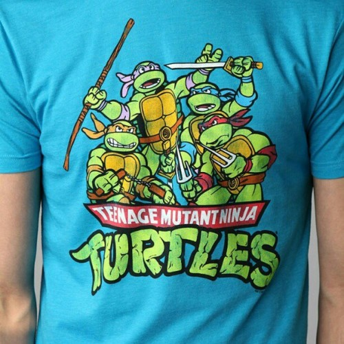 Teenage Mutant Ninja Turtles Tee - $24 @ #UrbanOutfitters #NinjaTurtles #BirthdayGiftIdeas