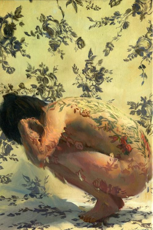 "melhoneycat:  Goldyla by Sergio Lopez ""Oil on Canvas 