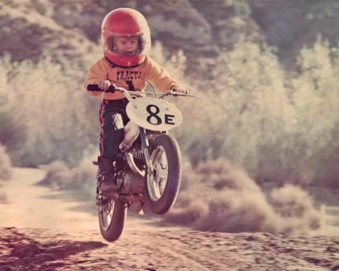 hobbymotor:  Young dirt bike