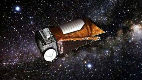 NASA's Prolific Planet-Hunting Mission Goes Into Overtime  NASA's planet-hunting Kepler Space Telescope has begun its extended mission, which should keep the prolific instrument searching for alien worlds for another four years, agency officials announced today (Nov. 14).  Kepler officially embarked upon the extended mission after completing its 3 1/2-year prime mission, which aimed to determine how common Earth-like planets are throughout the galaxy. The extended phase, which NASA announced this past April, funds the instrument through at least fiscal year 2016.  Kepler is staring at more than 150,000 stars continuously. It detects exoplanets by noticing the tiny brightness dips caused when they transit — or cross the face of — these stars from the telescope's perspective.