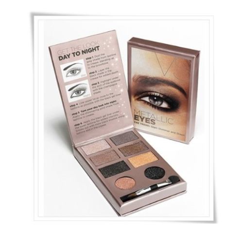 Product Shout Out! Victoria's Secret Metallic Eyeshadow Glam Shimmer and Sheen Makeup Kit