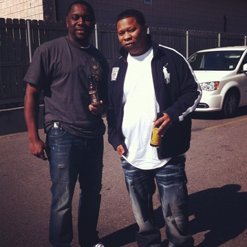 Mannie Fresh - Goodlife - Bayou87  #nola #neworleans #whodat #work #goodtimes #saints #music (at New Orleans)
