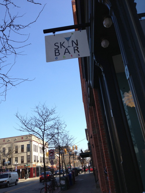 Just to be clear: the new Skin Bar in downtown Ann Arbor is not, in fact, a skin bar. No strippers. Not even one.