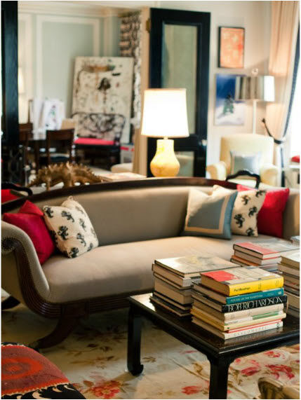 Home of Andy and Kate Spade for Matchbook mag (via Marcus Design)