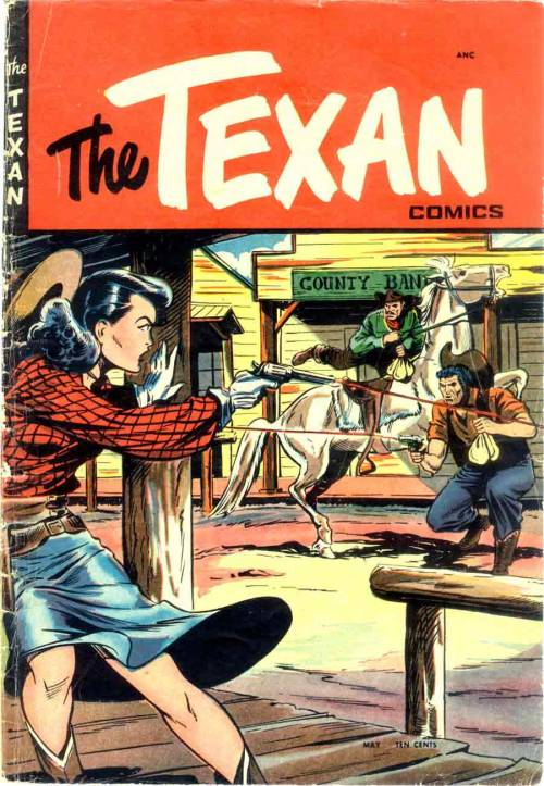 (via Pencil Ink - vintage comic book art blog 1940s-1990s: The Texan #4 - Matt Baker art & cover)