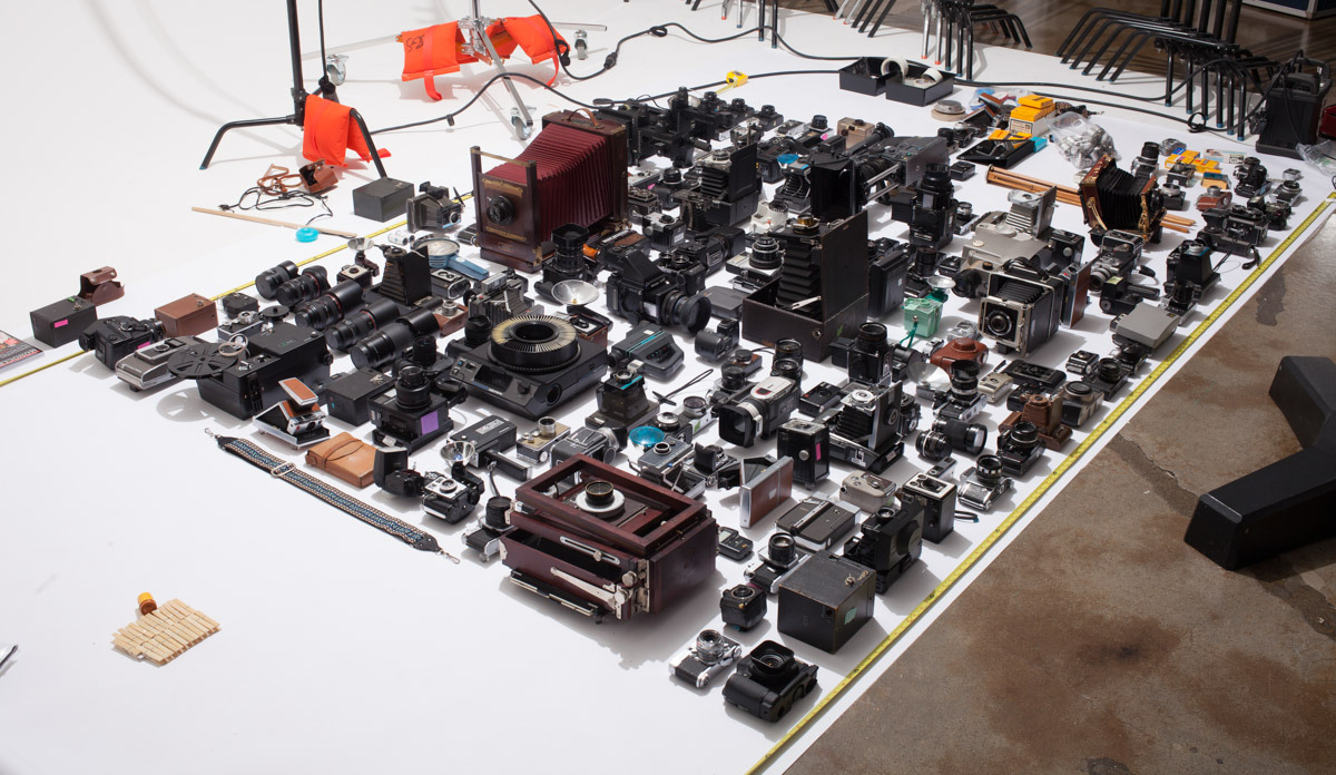 NEW WORK: Camera Collection