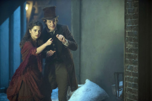 DOCTOR WHO CHRISTMAS SPECIAL PREVIEW PICS