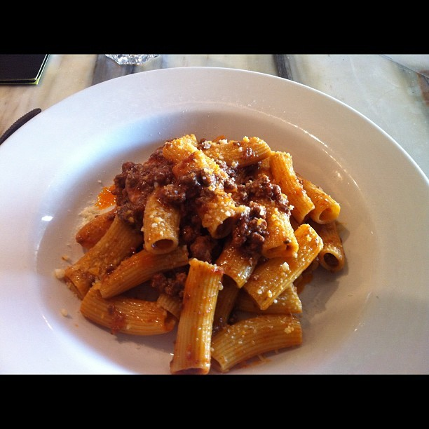"From Gastroposter Gianna Sami: Gastroposted via Instagram: ""Rigatoni with duck ragu. I'm feeling super comfortable. @gastropost @terronito"" by @giannasami 