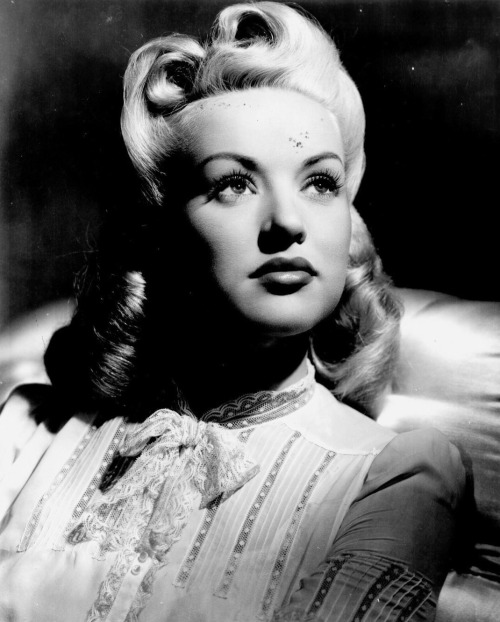 historiful:  Actress Betty Grable (1916-1973), date unknown.