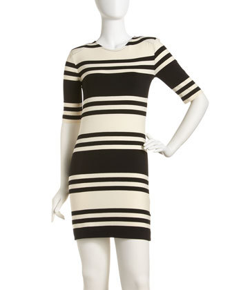 ITEM OF THE DAY: ITEM OF THE DAY:  FRENCH CONNECTION JAG STRIPE DRESSby Andrea Greb http://bit.ly/SS42Vm