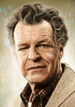 Walter Bishop by Fungila
