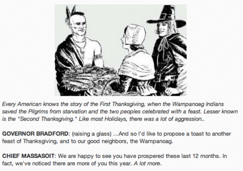 The Second Thanksgiving [Click to continue reading]
