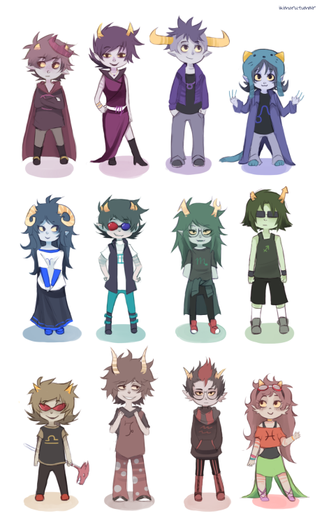hey-scourge-sister:  ikimaru:  bloodswaps!  Thank you friendThank you for keeping Terezi's blindness and not just tacking it on the tealblood