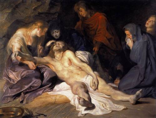 RUBENS, Pieter Pauwel (b. 1577, Siegen, d. 1640, Antwerpen) The Lamentation1614Oil on wood, 41 x 53 cmKunsthistorisches Museum, Vienna