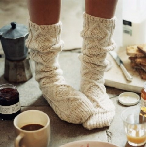 We're craving cozy.