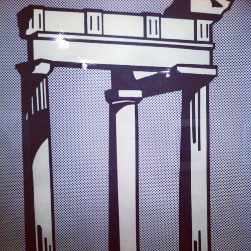 Lichtenstein does as the Romans do #itsallgreektome