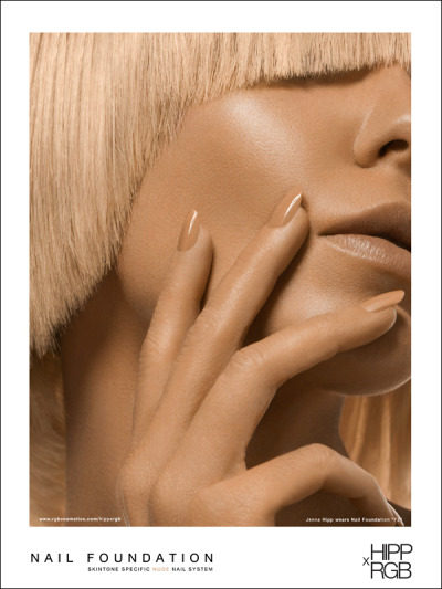 Nail Foundation  opaque  .  nude Nail Foundation, the inaugural collection consists of a compilation of four skin tone specific, opaque nude nail colors, which offer full, flawless coverage. Inspired by foundation for the face, Nail Foundation colors were precisely matched to top cosmetic foundation shades used by leading makeup artists. Available in four shades - F1  F2  F3  F4 -, each can be applied with two coats or worn under a favorite neutral for a custom blend that covers imperfections and enhances the skin's natural tones.  SPECIAL: 30% off through this Sunday with CODE:NUDE to introduce you to yours.