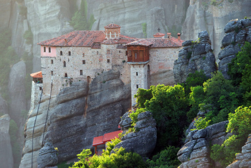 The Holy Monastery of Rousanou - Meteora, Greece.