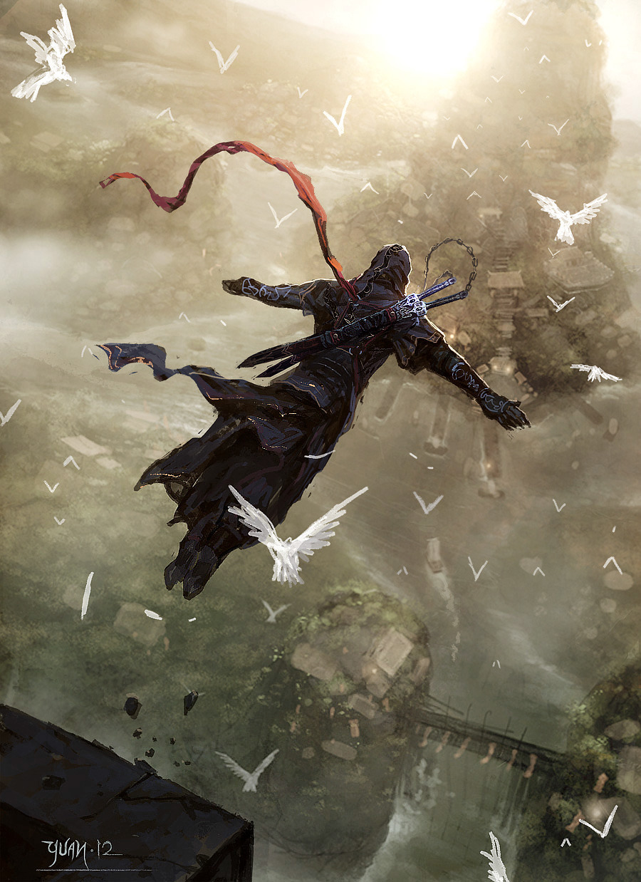 gamefreaksnz:  Assassin, Leap of Faith Art by ChaoyuanXu