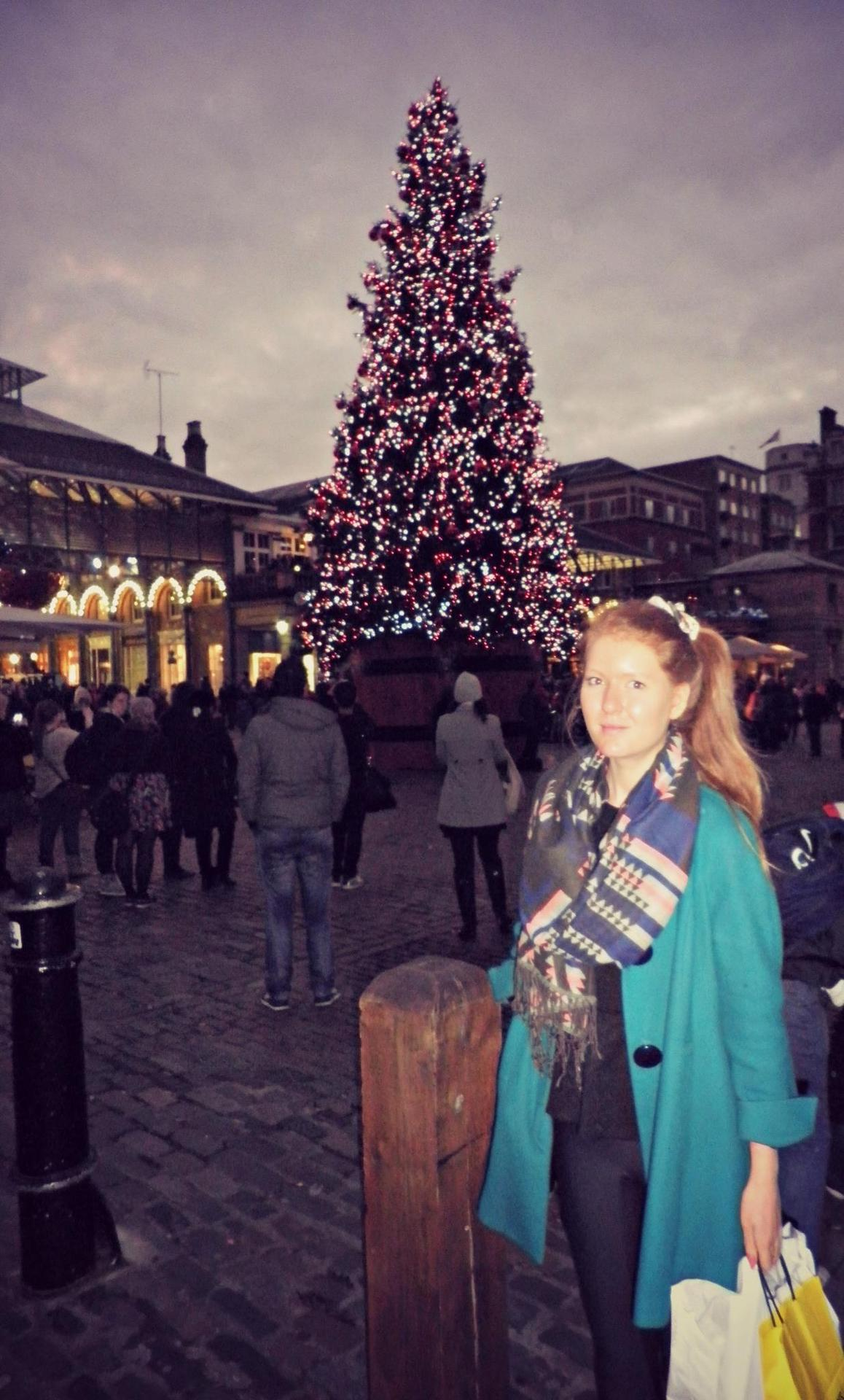 Loving Life in Convent Garden. Can it be Christmas now please and thank you.