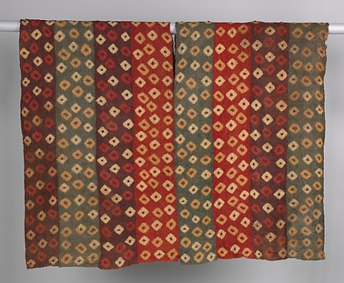 Peruvian tunic woven circa 7th–9th century. The Met. Accession Number: 1980.564.1