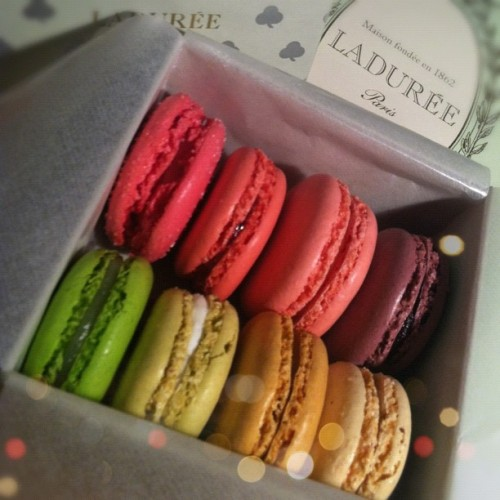 Our @StyledOn interns are the best. Who doesn't love a #Laduree rainbow? #love