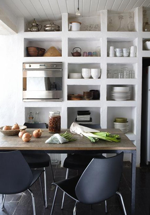 open shelves (via the style files)