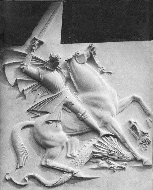 Arno Breker - St. George slaying the dragon