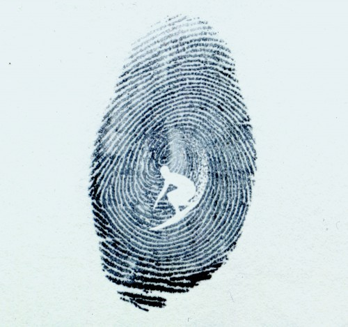 radicalsurfer:  this is what my fingerprint looks like too!  This is awesome!