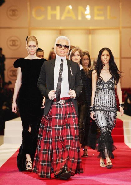 From a kilted Karl to a bagpipe bag, we have some ideas for Chanel's upcoming Scottish show.