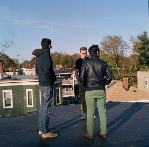 danhejl:  Friends on the rooftop. Jamaica Plains, MA.