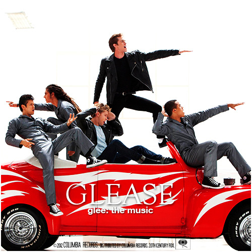 Glee: The Music, Glease Alternative Album Cover