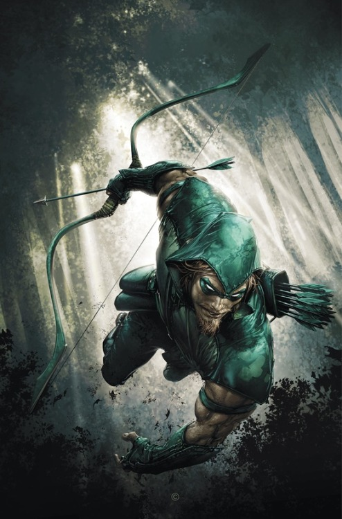 deauvergne:  Green Arrow by Clayton Crain  Clayton Crain is amazing