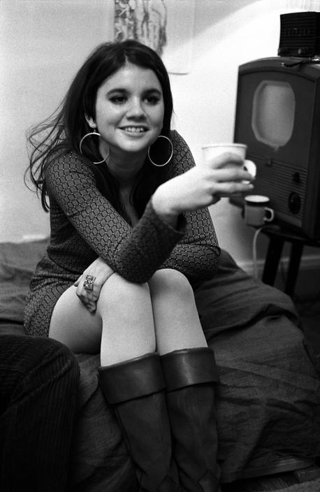 Linda Ronstadt photographed by Elliott Landy
