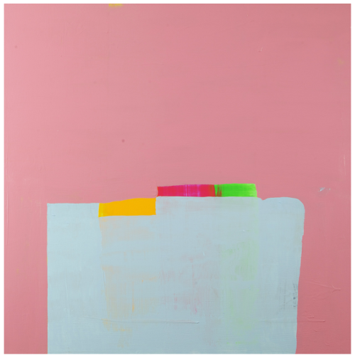 Curating Contemporary  Paul Behnke Steelville (1984), 2011 acrylic on canvas 50 x 48 in.