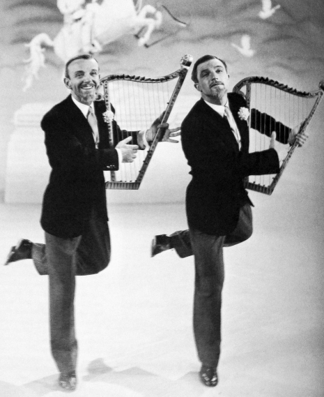 Fred Astaire and Gene Kelly for Ziegfeld Follies (1946)