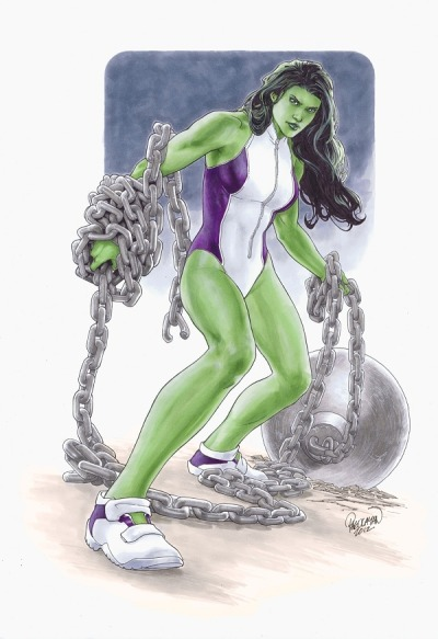 She-Hulk by Carlo Pagulayan