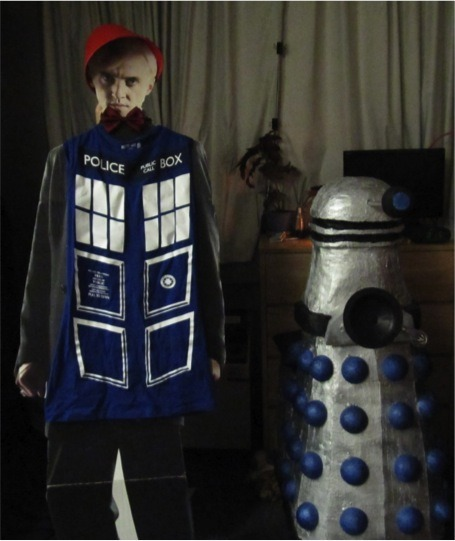 Draco had a run in with a Dalek! OH NO
