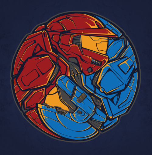 assorted-goodness:  The Tao of RvB - by TrulyEpic Prints available at Society6