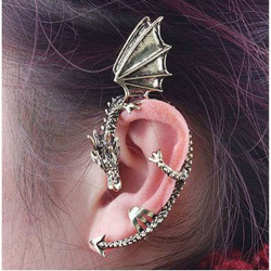 Preorder only Dragon Cuff Earring $6+ shipping