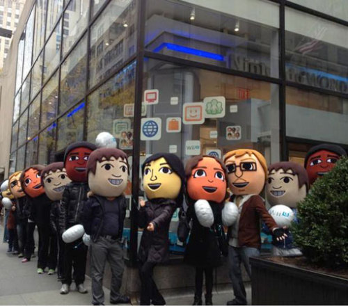 Wii U 12am launch event @ Nintendo World Store | November 18th! Nintendo World Store 10 Rockefeller Plaza New York, NY 10020 On 48th Street between 5th and 6th Avenues 646.459.0800 Phone Via Subway B, D, F, M to 47-50 Sts