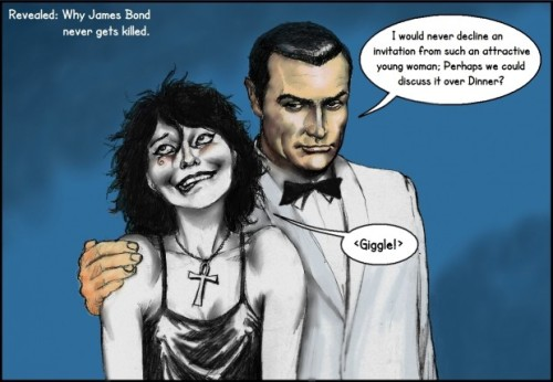 James Bond Charms Death by Nick Perks